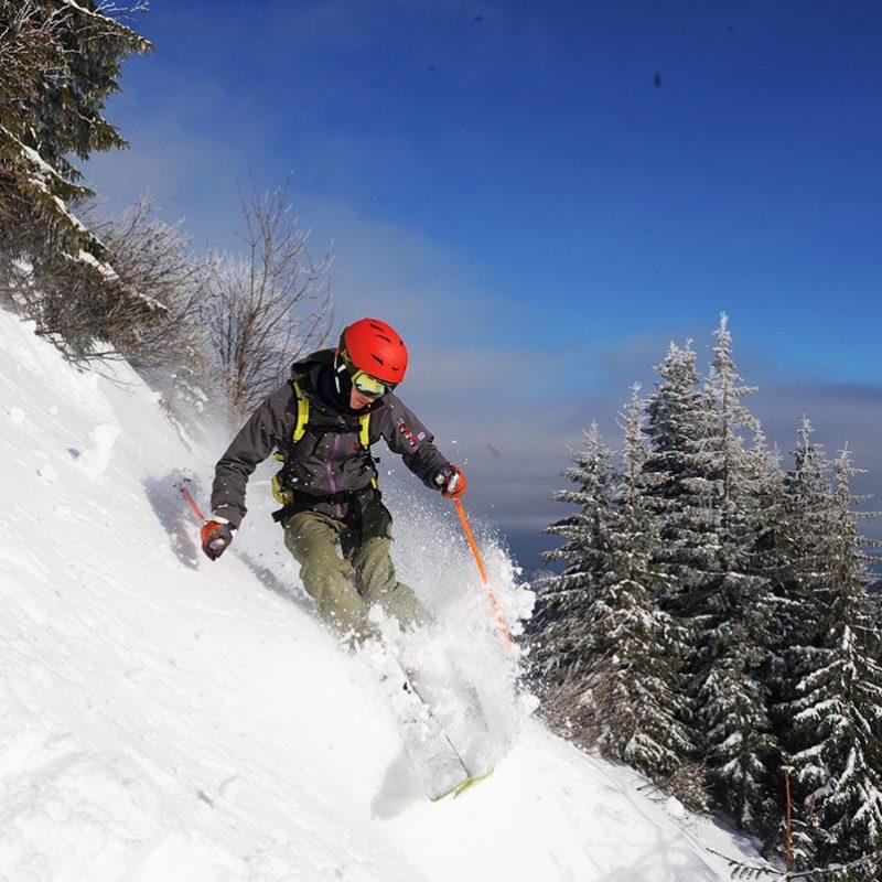 stå på ski i ukraine